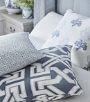 Thibaut Design Blue Group in Chestnut Hill