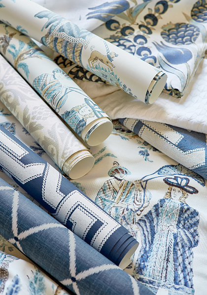Royale Toile Collage from Chestnut Hill Collection