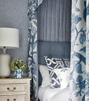 Thibaut Design Macbeth Bed in Chestnut Hill