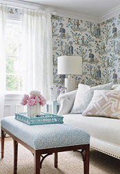 Royale Toile from Chestnut Hill Collection