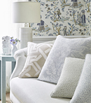 Thibaut Design Royale Toile in Chestnut Hill