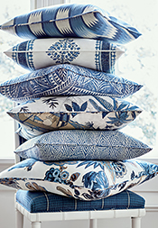 Blue & White Color Series from Colony Collection