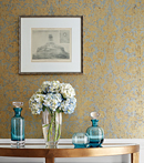 Thibaut Design Curtis Damask in Damask Resource 4