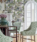 Thibaut Design Asian Scenic in Dynasty