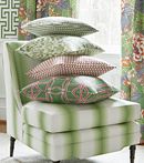Thibaut Design Green Group in Dynasty