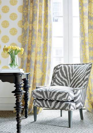 Thibaut Design Halie Circle in Enchantment