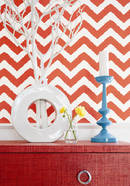 Thibaut Design Widenor Chevron in Graphic Resource