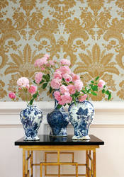 West Indies Damask from Grasscloth Resource 2 Collection
