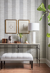Crossroad Stripe from Grasscloth Resource 4 Collection