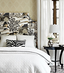 Thibaut Design Daintree - Diamond Head in Greenwood