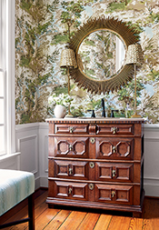 Lincoln Toile from Bathroom & Powder Room Collection
