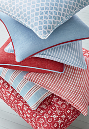 Red White & Blue Group from Landmark Collection