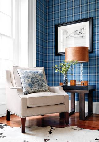 Thibaut Design Winslow Plaid in Menswear Resource