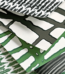 Thibaut Design Green & Black series in Modern Resource