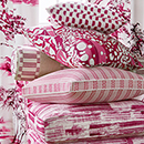 Thibaut Design Fuchsia Color Series in Nara