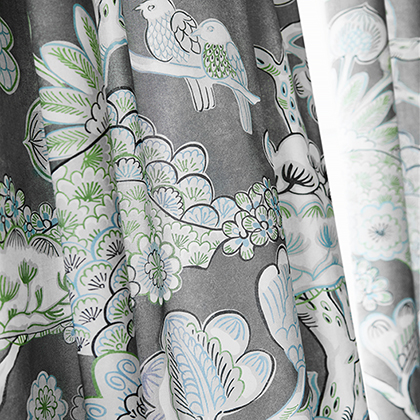 Tree House Fabric from Nara Collection