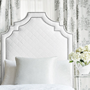 Thibaut Design Glitter Damask Embroidery in Natural Glimmer