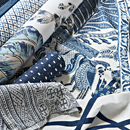Thibaut Design Blue & White Group in Palampore