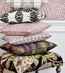 Thibaut Design Plum & Charcoal Group in Paramount