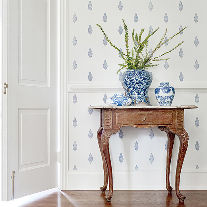 Manor Wallpaper from Small Scale  Collection