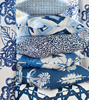 Thibaut Design Blue Pillows in Summer House