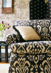 Bravado Ikat from Tea House Collection