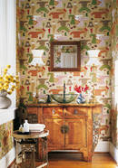 Thibaut Design Chinese Laundry in Tea House