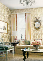 Harmony Damask from Tea House Collection