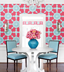 Thibaut Design Medallion Paisley in Trade Routes