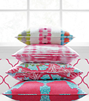 Thibaut Design Pink Group in Trade Routes