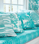 Thibaut Design Turquoise Group in Tropics