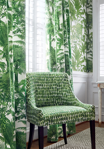 Palm Botanical from Tropics Collection