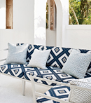Thibaut Design Delray Diamond in Oasis