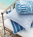 Thibaut Design Blue Group in Oasis