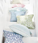 Thibaut Design Pillows in Oasis