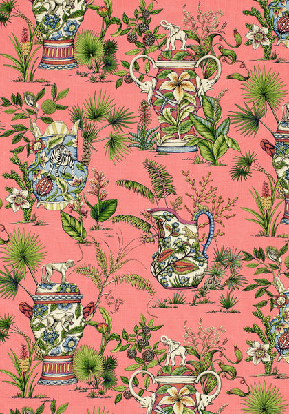 Tropical Fantasy Pink F95765 Collection Biscayne From