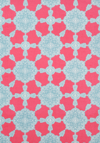 Medallion Paisley Pink And Turquoise F988726 Collection