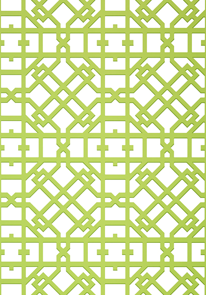Turner Green T11033 Collection Geometric Resource 2 From Thibaut
