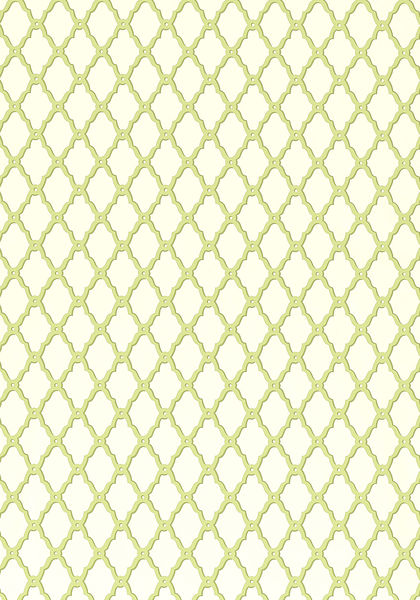 Rothbury Trellis Green T1817 Collection Geometric Resource From