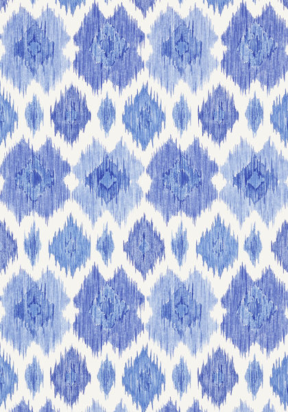 Bimini Ikat Blue And White T5732 Collection Biscayne