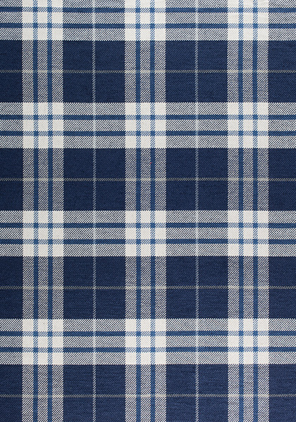 Percival Plaid Navy W80083 Collection Woven 9 Stripes