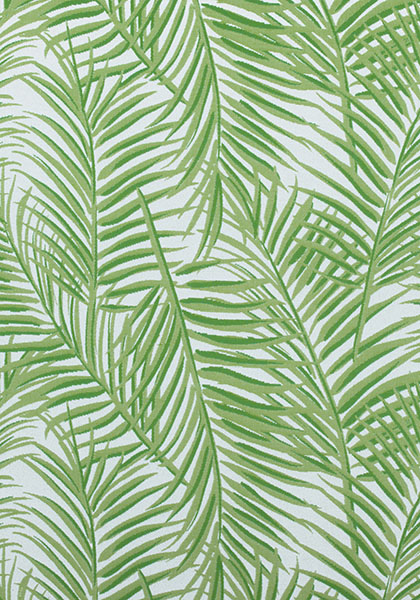 West Palm Woven Kiwi On White W80565 Collection Oasis