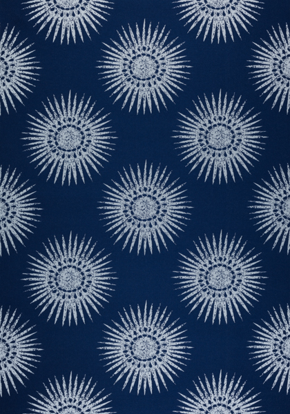Bahia Woven Navy W80781 Collection Solstice From Thibaut