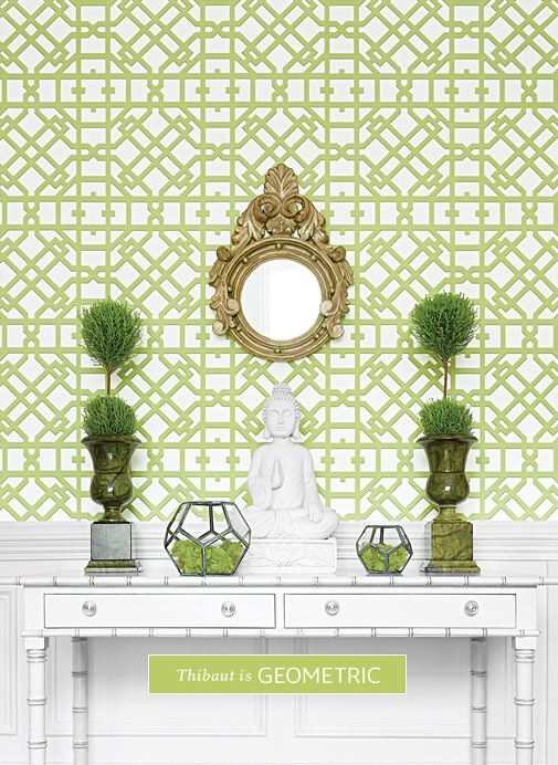 designer wallpaper fine fabrics high end furniture thibaut - Designer Wall Papers