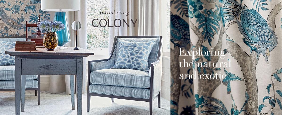 Designer Wallpaper Fine Fabrics High End Furniture Thibaut